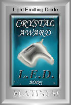 Light Emitting Diode Crystal Award
