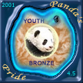 PandaТs PrideЃ Bronze YOUTH Award 2001