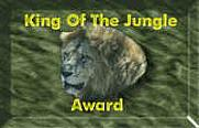 King Of The Jungle Award